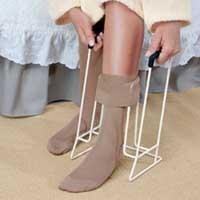 compression stocking aid rigid