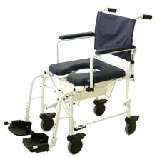 wheeled shower commode invacare