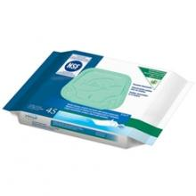 tena flushable wipes wash cloths incontinence cleanse