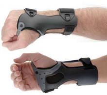wrist brace, low profile wrist brace, wrist brace low profile, light wrist brace, molded wrist brace, pressure point wrist brace